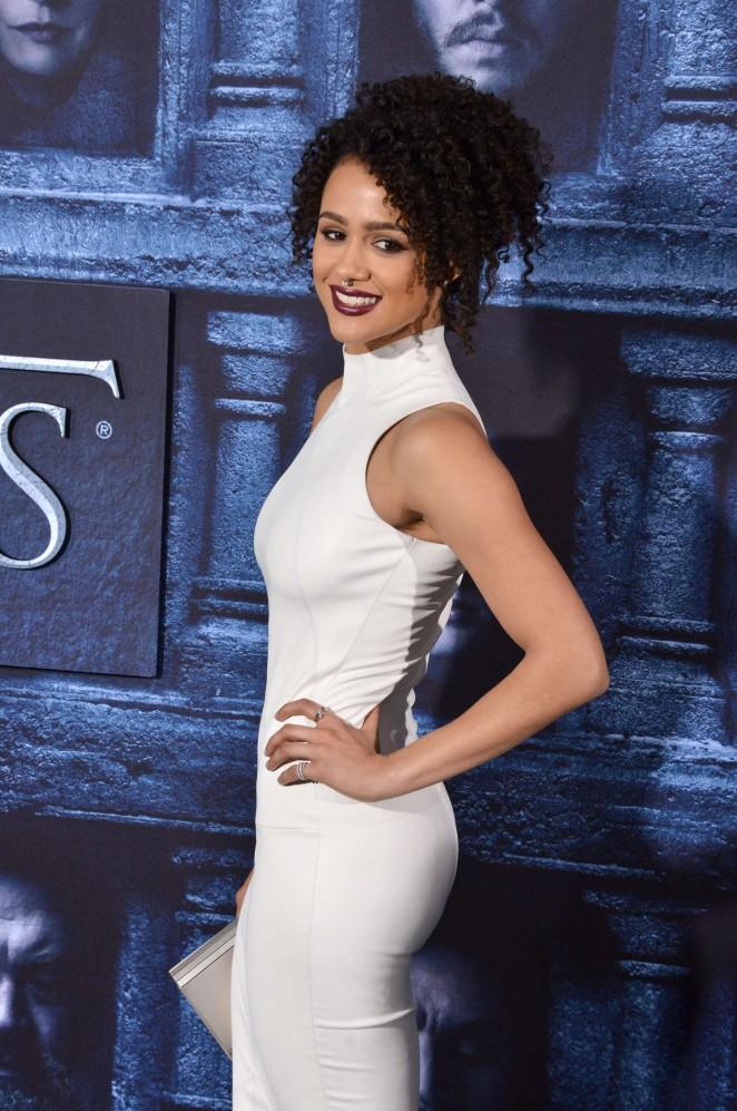 Nathalie Emmanuel - 'Game of Thrones' Season 6 Premiere in Hollywood