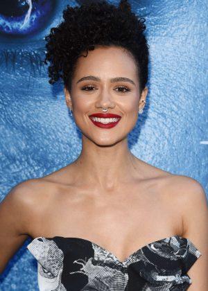 Nathalie Emmanuel - 'Game Of Thrones' Season 7 Premiere in Los Angeles