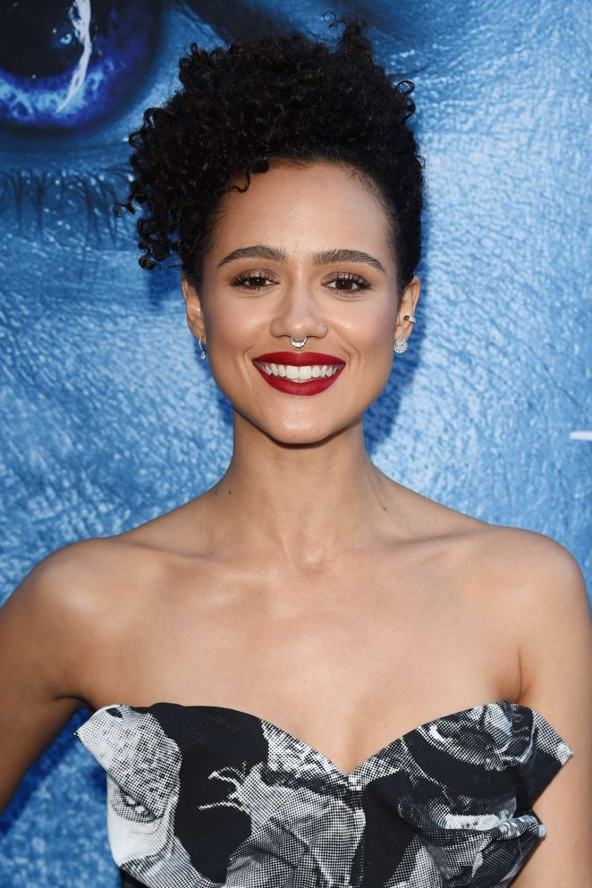 Nathalie Emmanuel - 'Game Of Thrones' Season 7 Premiere in Los Angeles