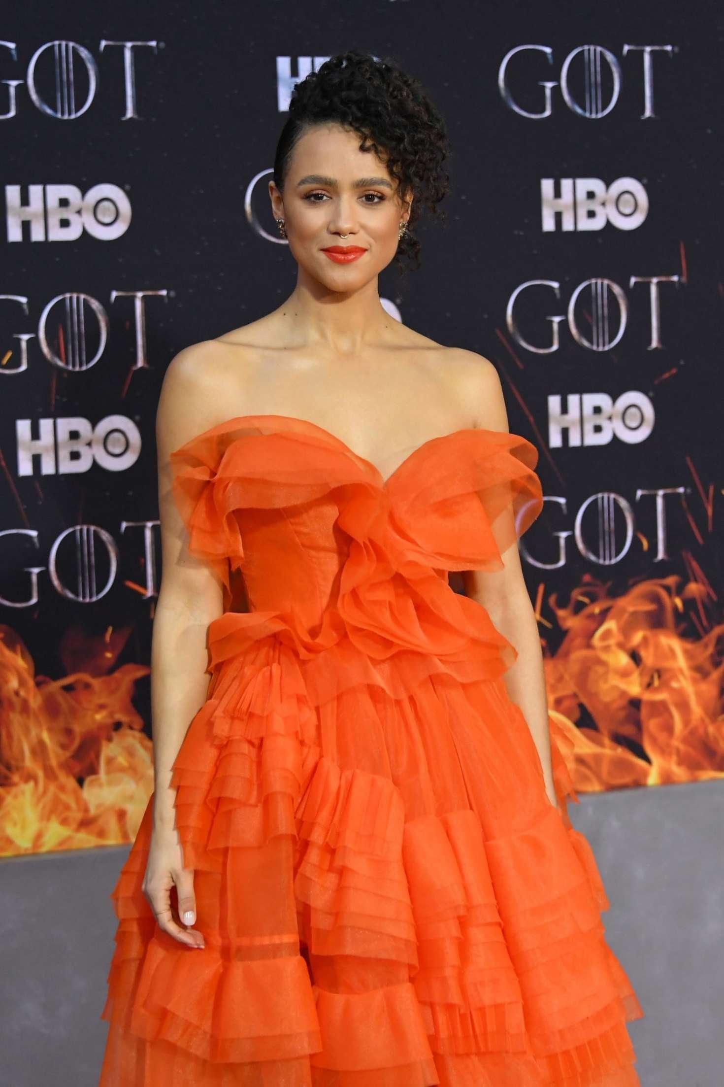 Nathalie Emmanuel 2019 : Nathalie Emmanuel: Game of Thrones Season 8 Premiere -01