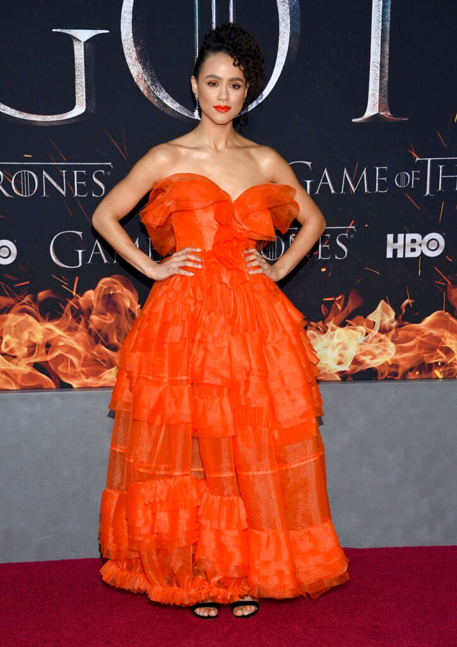 Nathalie Emmanuel 2019 : Nathalie Emmanuel: Game of Thrones Season 8 Premiere -04