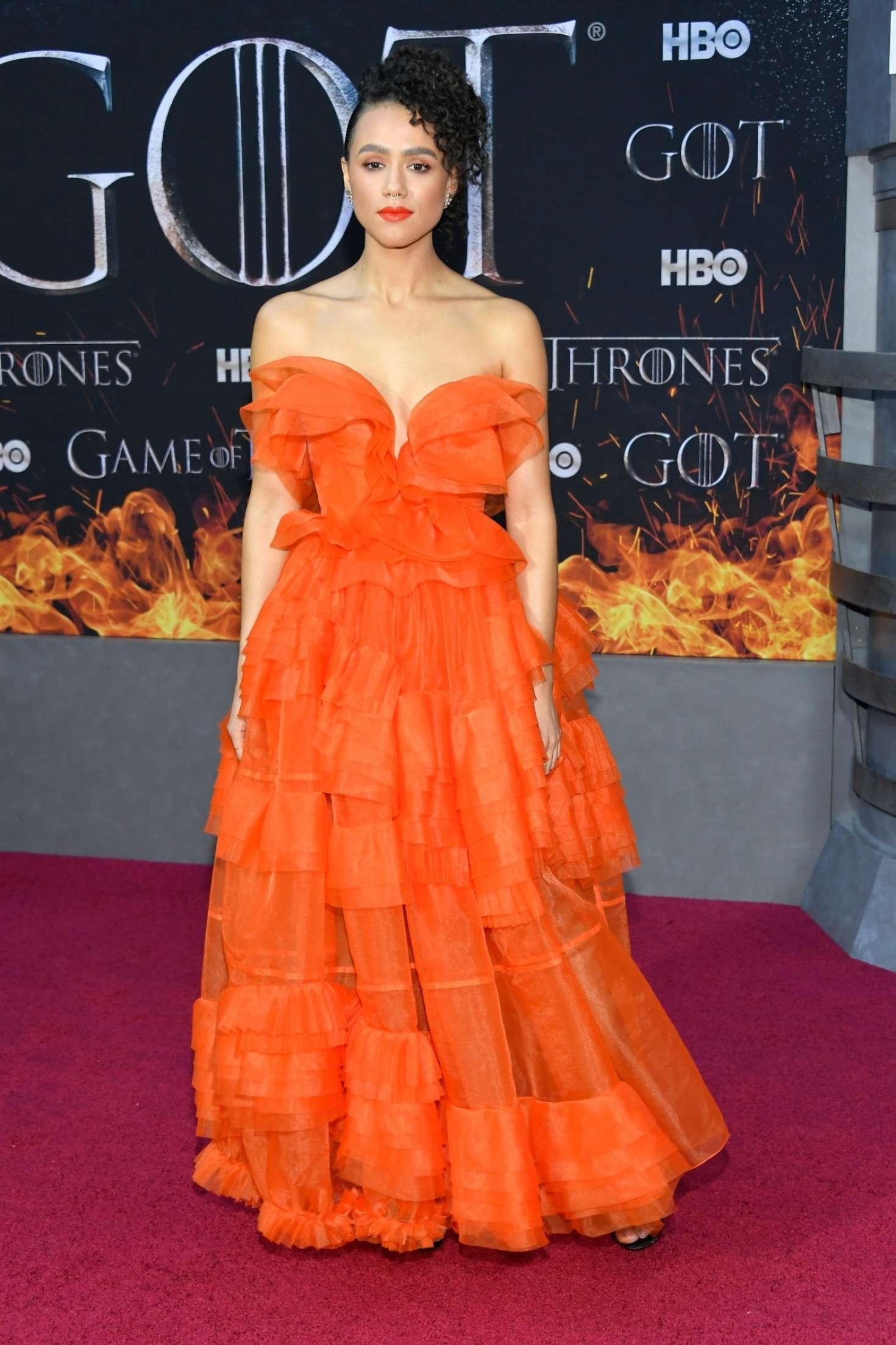 Nathalie Emmanuel 2019 : Nathalie Emmanuel: Game of Thrones Season 8 Premiere -09