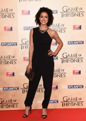 Nathalie Emmanuel - 'Game of Thrones: Season Five' World Premiere in London
