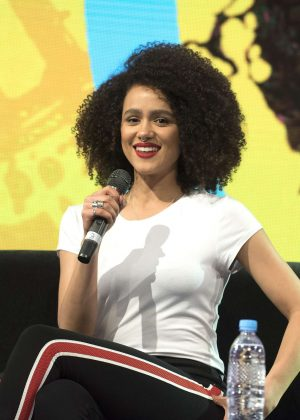 Nathalie Emmanuel - HBO Panel at ComicCon Argentina 2018 in Buenos Aires