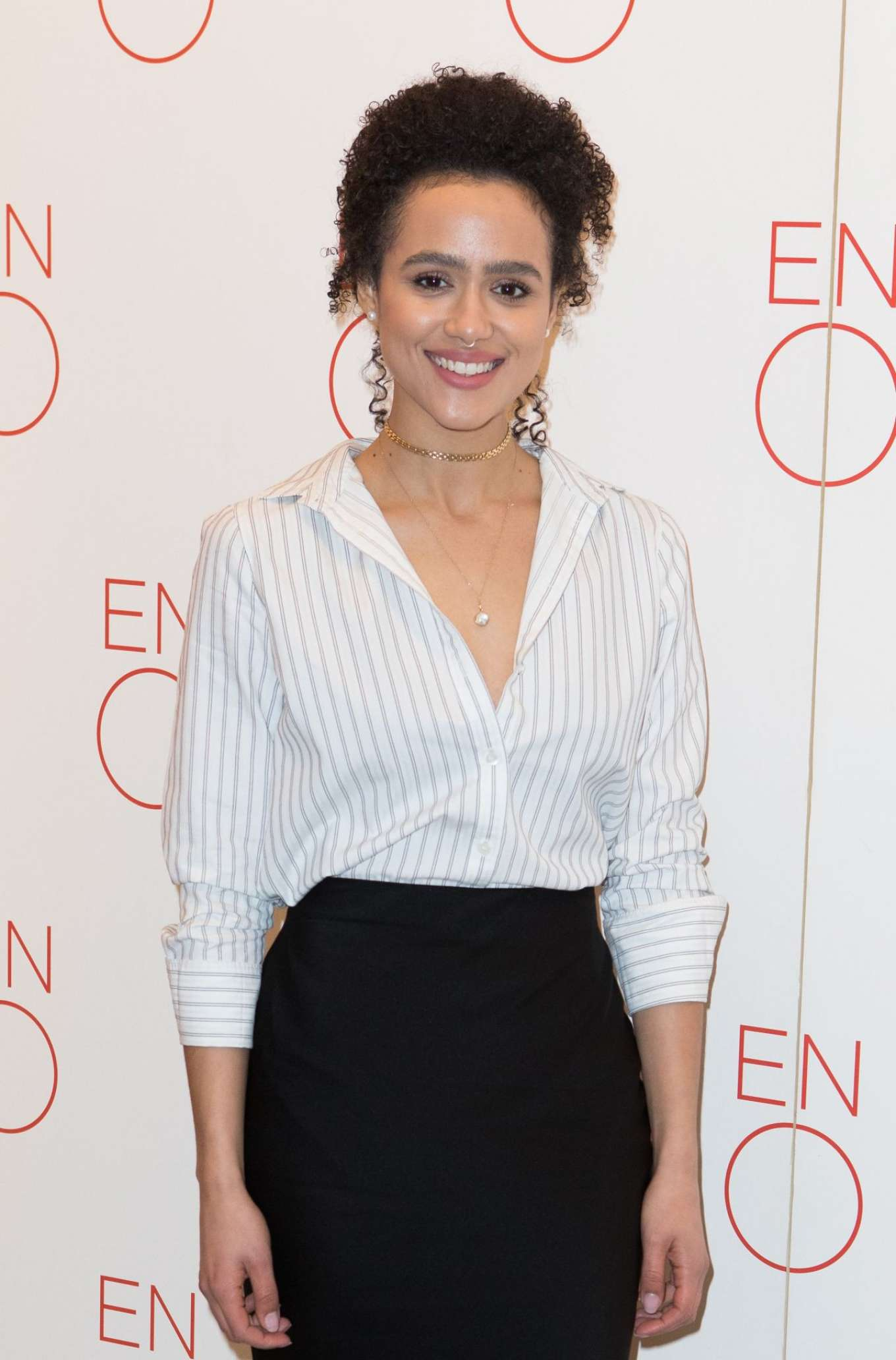Nathalie Emmanuel - 'La Traviata' VIP Performance and Press Night in London