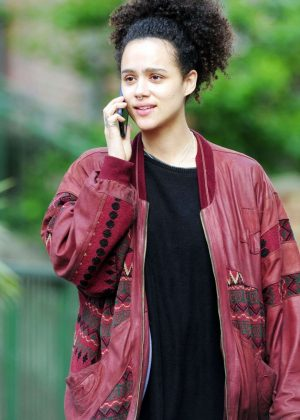 Nathalie Emmanuel - Out In Notting Hill