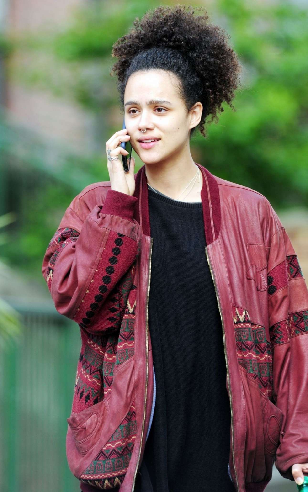 Nathalie Emmanuel - Out In Notting Hill