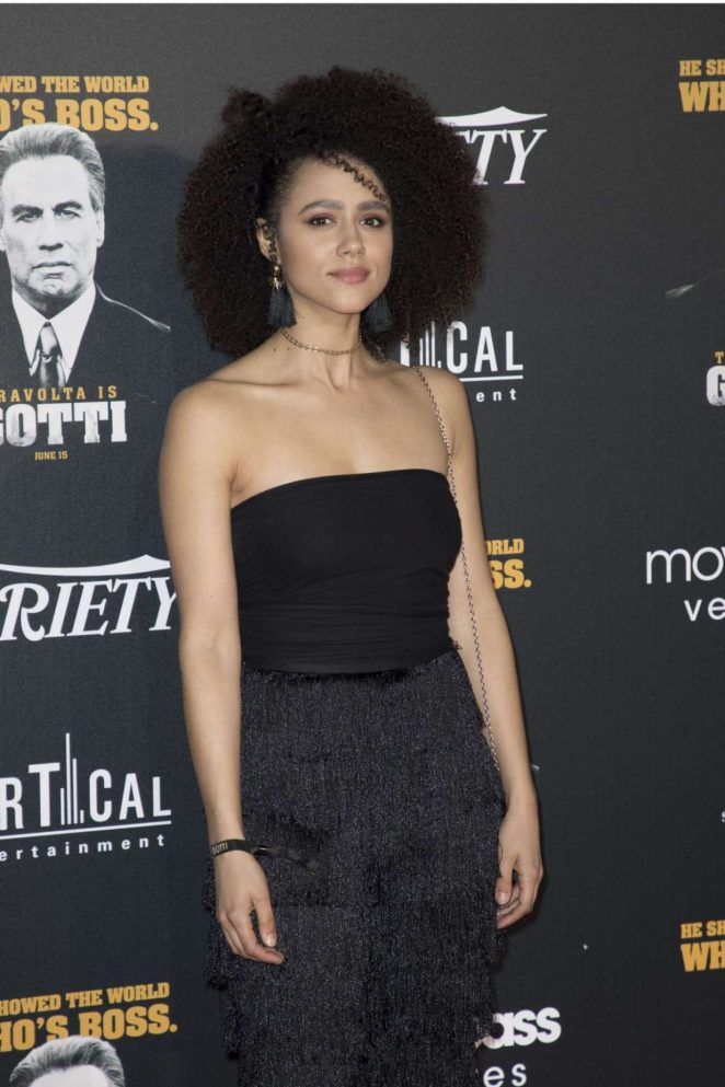 Nathalie Emmanuel - Pictured At Gotti Premiere Afterparty In Cannes