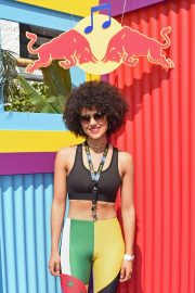 Nathalie Emmanuel - Red Bull Sound System At Notting Hill Carnival in Notting Hill