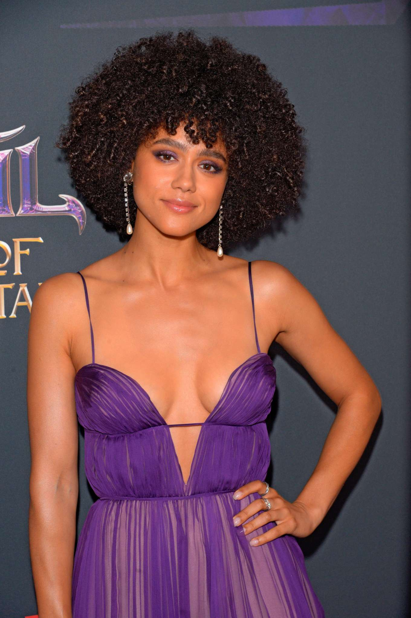 Nathalie Emmanuel - The Dark Crystal - Age of Resistance photocall in NYC