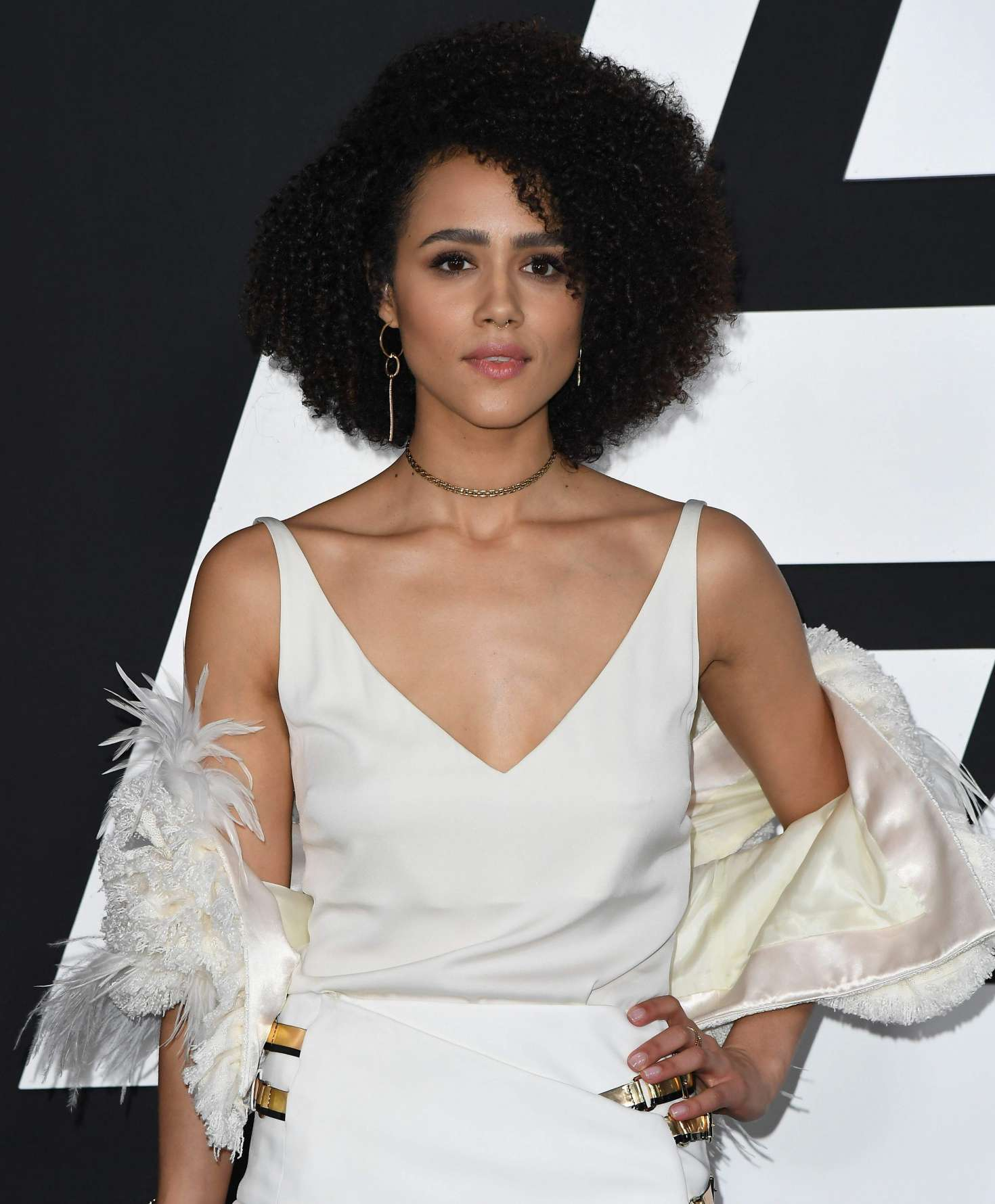 Nathalie Emmanuel - 'The Fate of the Furious' Premiere in New York