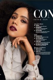 Nathalie Emmanuel - The Glossary x Chanel Magazine (November 2019)