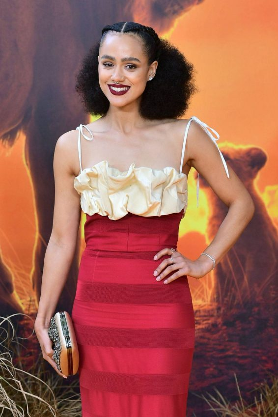 Nathalie Emmanuel - 'The Lion King' Premiere in London