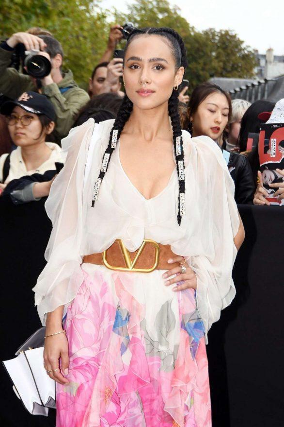 Nathalie Emmanuel - Valentino Womenswear SS 2020 Show at Paris Fashion Week