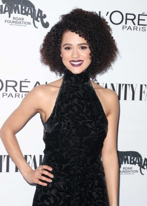 Nathalie Emmanuel - Vanity Fair and L'Oreal Paris Toast to Young Hollywood in West Hollywood