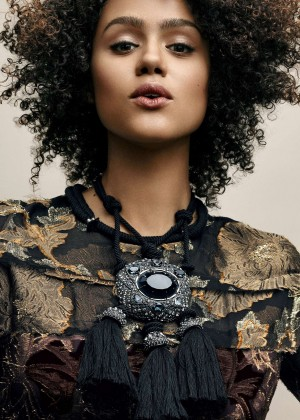 Nathalie Emmanuel - Vogue Magazine (July 2015)