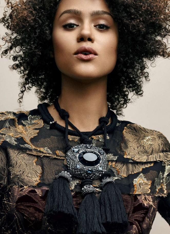 Nathalie Emmanuel - Vogue Magazine (July 2015)