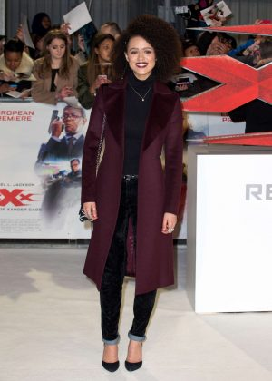 Nathalie Emmanuel - 'xXx': Return of Xander Cage' Premiere in London