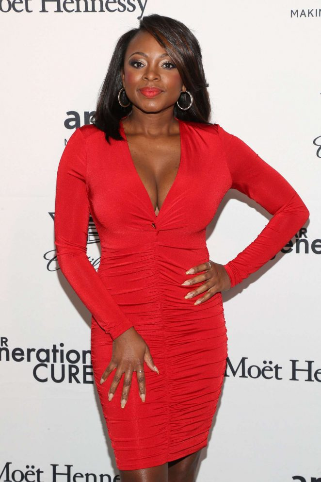 Naturi Naughton - 2016 amfAR GenerationCure Holiday Party in NY