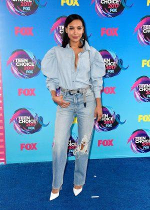 Naya Rivera - 2017 Teen Choice Awards in Los Angeles