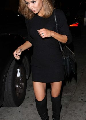 Naya Rivera Leaving Catch LA in West Hollywood