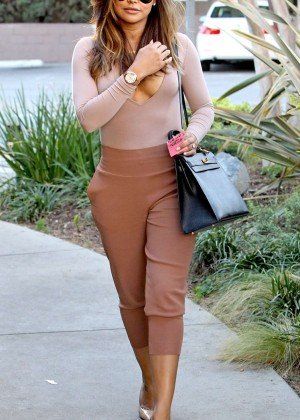 Naya Rivera out in Los Angeles -09