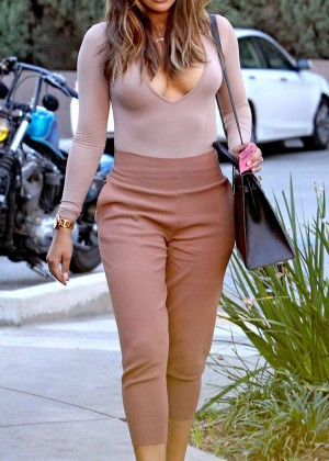Naya Rivera out in Los Angeles -11