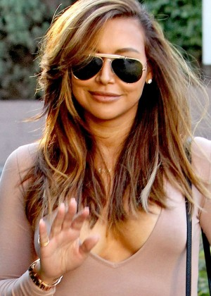 Naya Rivera out in Los Angeles -13