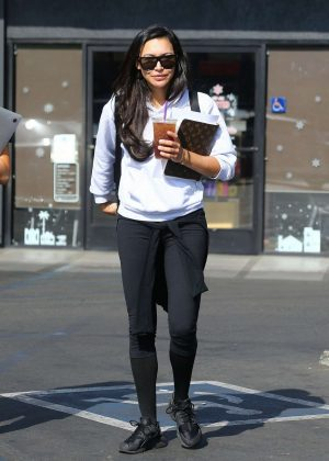 Naya Rivera - Out in Los Angeles