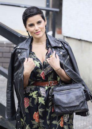 Nelly Furtado Leaving the ITV studios in London
