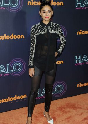 Nelufar Hedayat - Nickelodeon Halo Awards 2016 in New York
