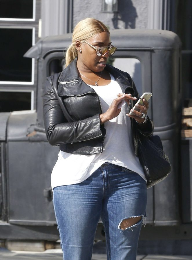 Nene Leakes in jeans Out in West Hollywood