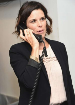 Neve Campbell - Annual Charity Day Hosted By Cantor Fitzgerald, BGC and GFI in NYC
