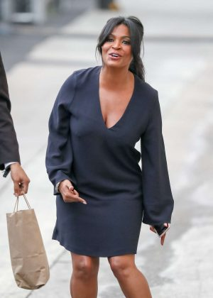 Nia Long at 'Jimmy Kimmel Live' in Los Angeles