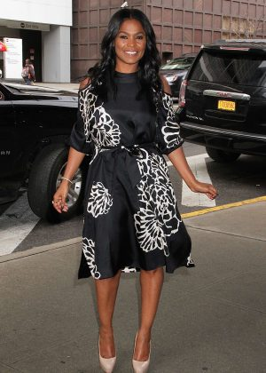 Nia Long at the 'Harry' talk show in New York