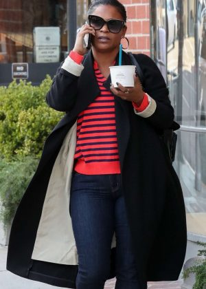 Nia Long - Out in Beverly Hills