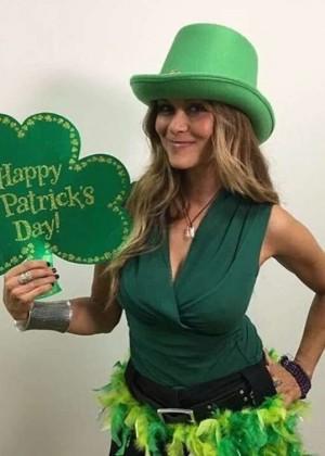 Nia Peeples - St. Patrick's Day Instagram 2016