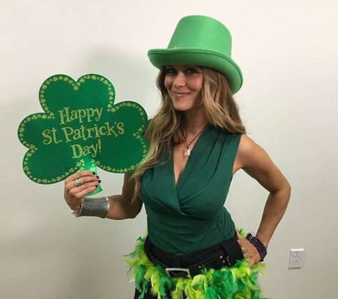 Nia Peeples – St. Patrick's Day Instagram