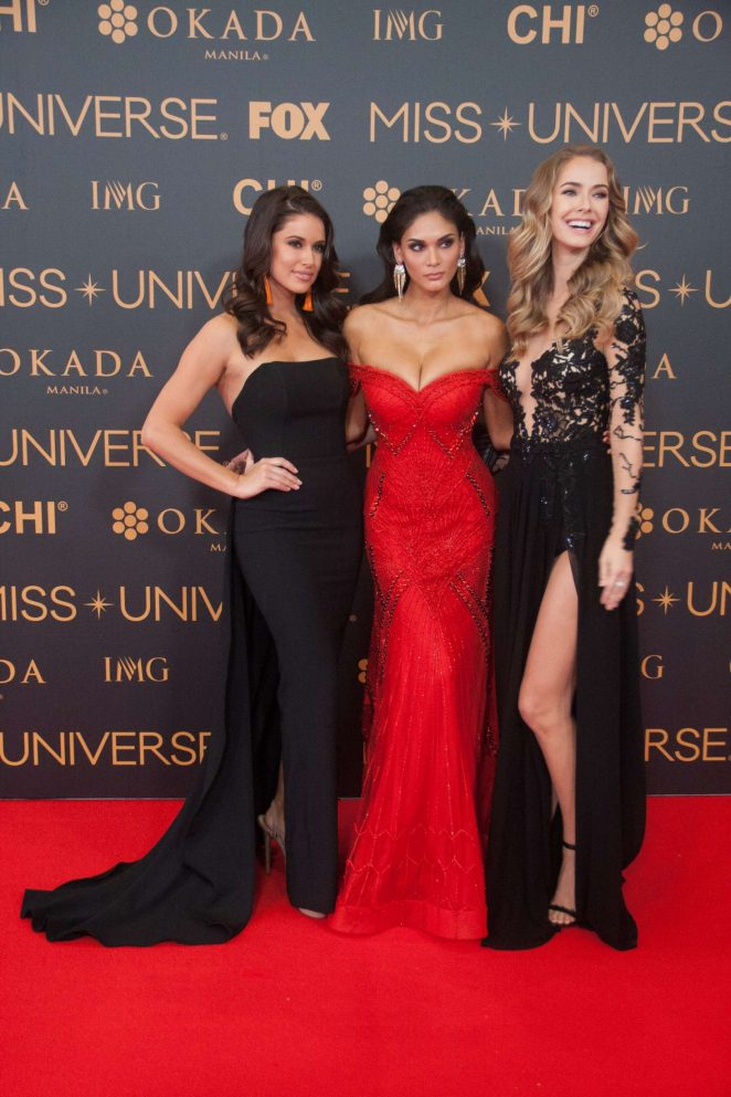 Nia Sanchez - Miss Universe Red Carpet Presentation in Philippines