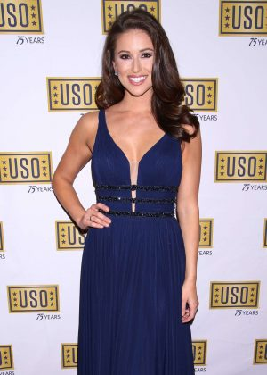 Nia Sanchez - USO New York 75th Anniversary Gala