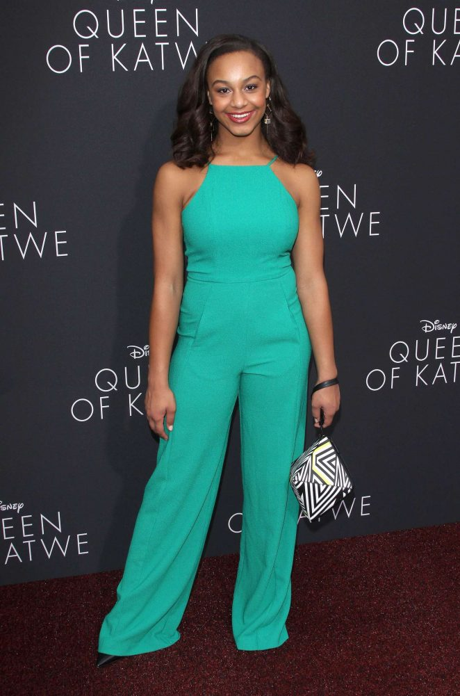 Nia Sioux: Queen of Katwe LA Premiere -01