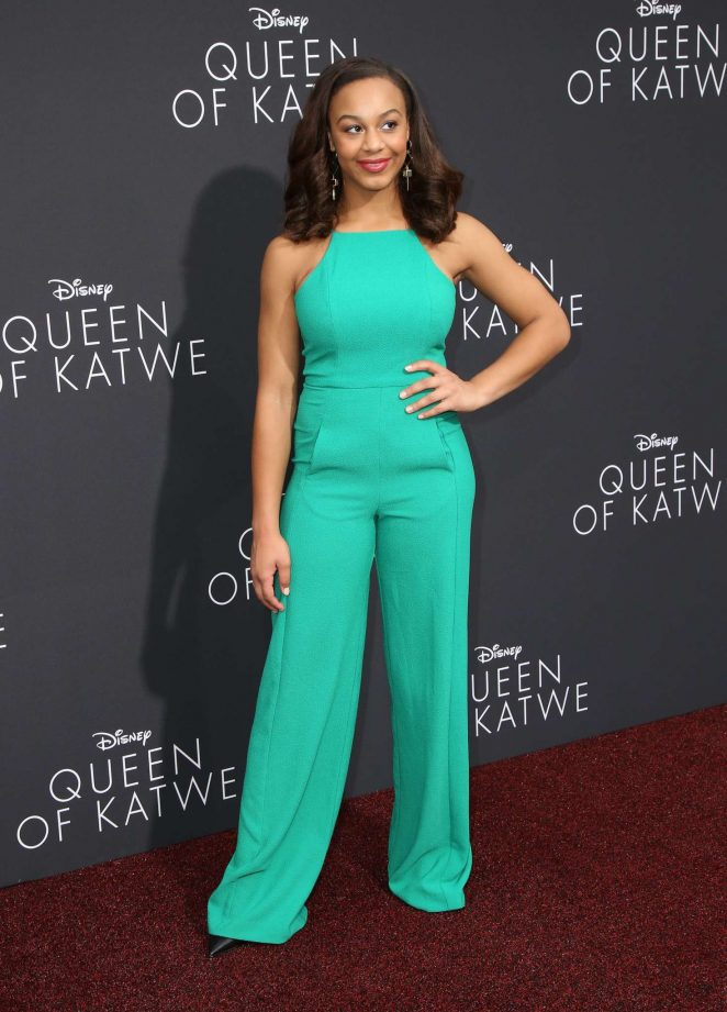 Nia Sioux: Queen of Katwe LA Premiere -02