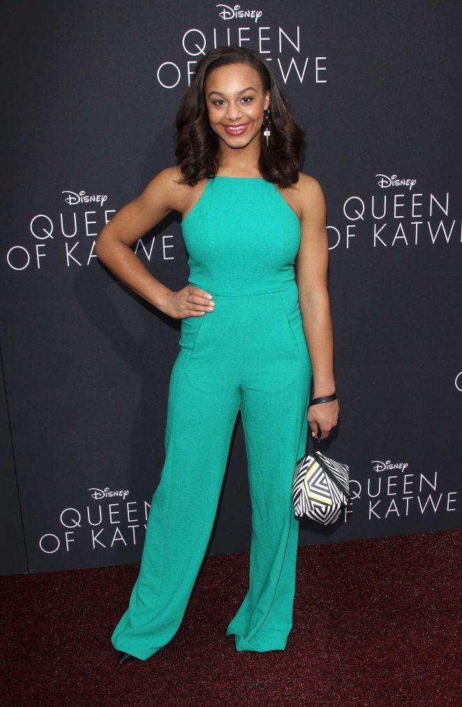 Nia Sioux: Queen of Katwe LA Premiere -08