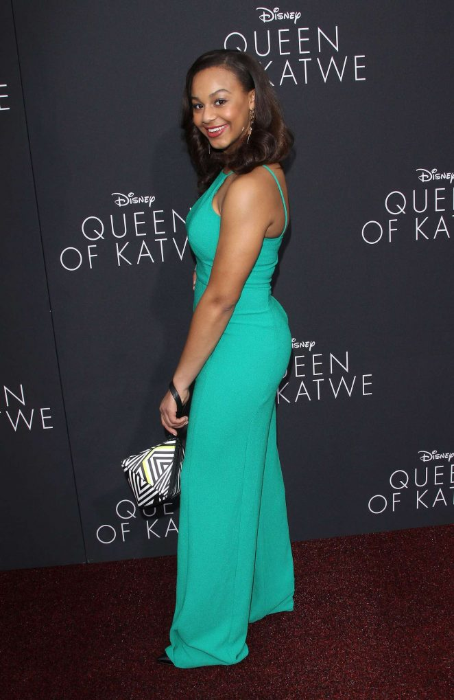 Nia Sioux: Queen of Katwe LA Premiere -09