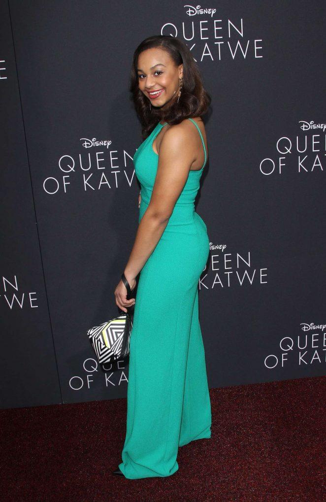 Nia Sioux 2016 : Nia Sioux: Queen of Katwe LA Premiere -09