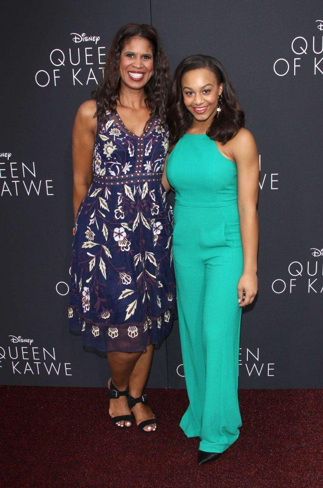 Nia Sioux: Queen of Katwe LA Premiere -16