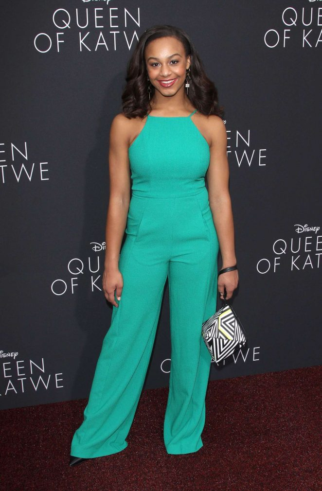Nia Sioux: Queen of Katwe LA Premiere -19