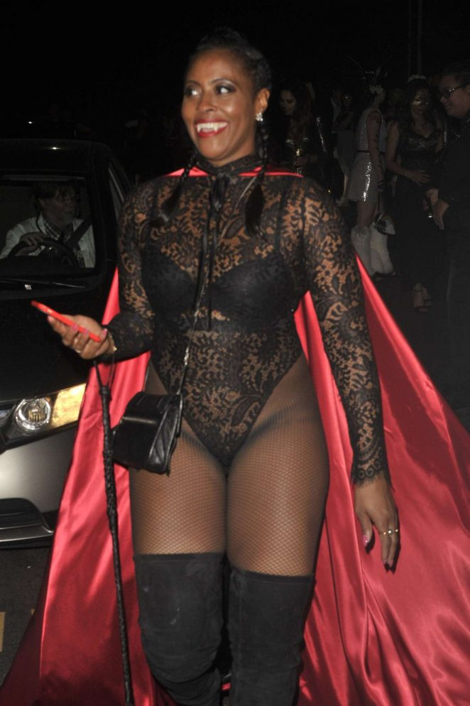 Nichelle Hines - Matthew Morrison's Halloween Party 2016 in LA