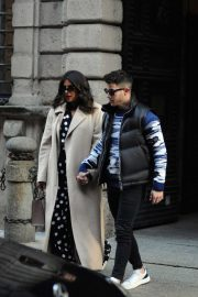 Nick Jonas and Priyanka Chopra - Valentine's Day lunch in Milan