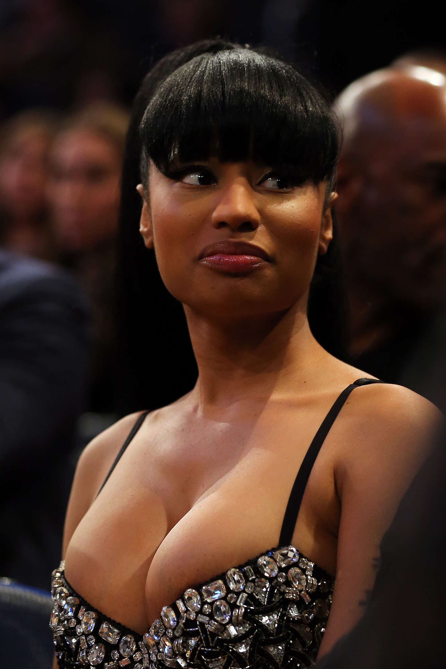Nicki-Minaj:-2015-NBA-All-Star-Game--06.